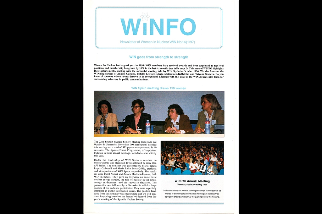 1996 - 22ª Reunión Anual SNE. Primera-conferencia WiN en Santander