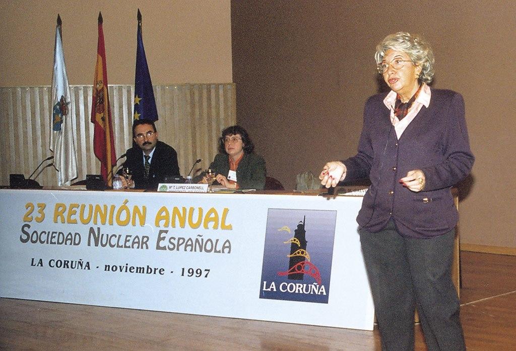 1997 - 23ª Reunion Anual SNE. Conferencia WiN en La Coruña