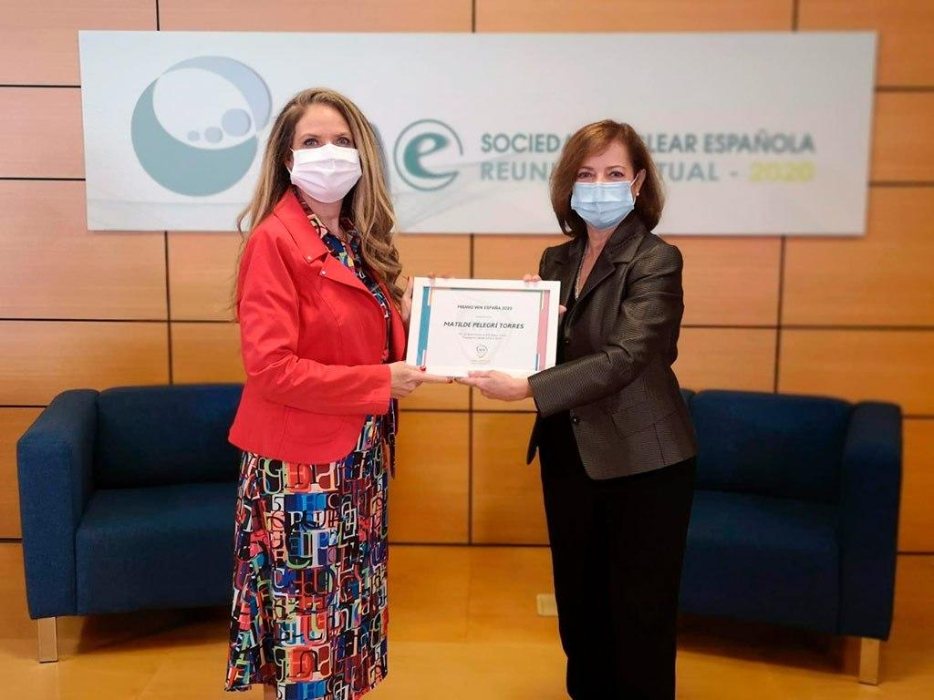 2020 - Premio WIN con las medidas de seguridad necesarias