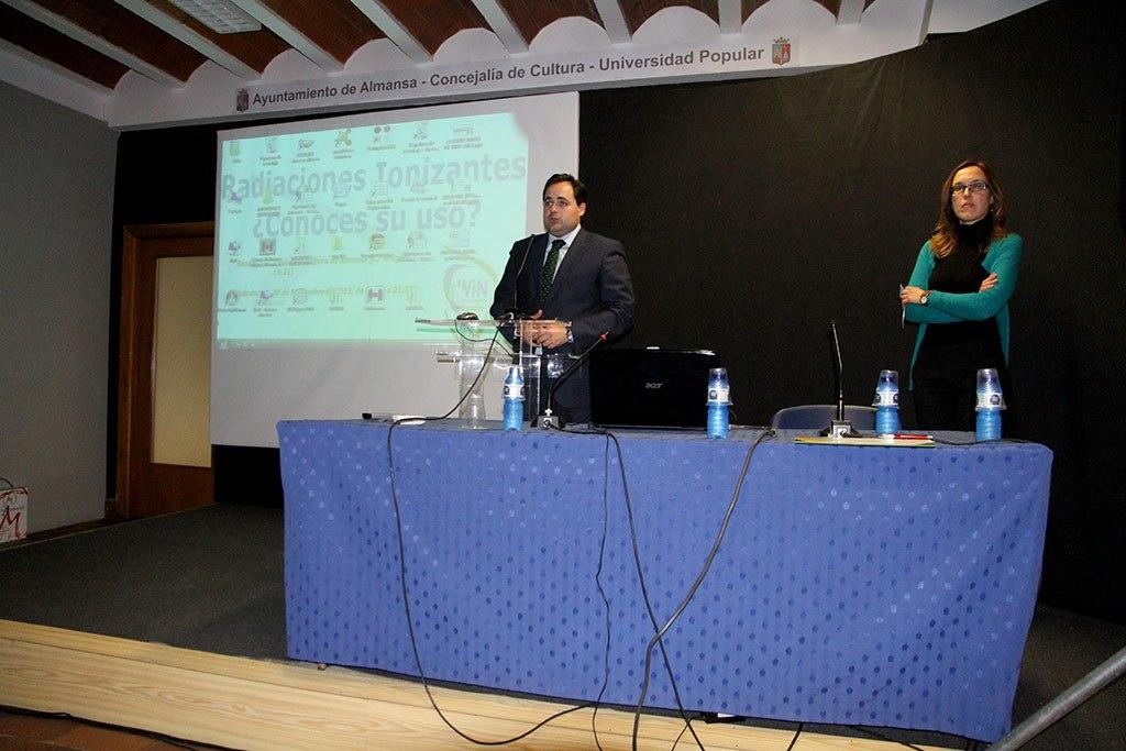 2012 - Curso radiaciones ionizantes en Almansa