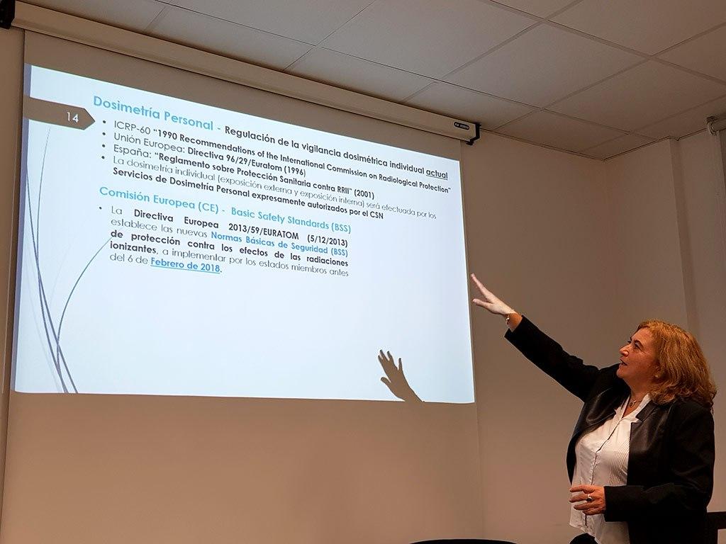 2017 - Maria Antonia López en semana de la ciencia