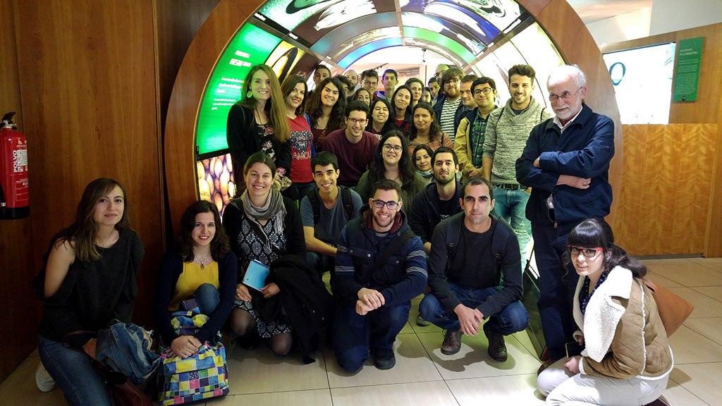 2017 - Visita al centro de información de Enresa