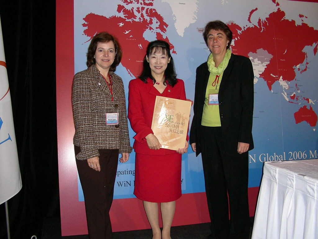 2006 - Encuentro con la presidenta de WiN Global en Canada